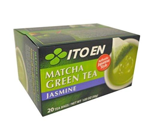 Ito En Matcha Green Tea, Jasmine, 20 Count (Pack of 8)