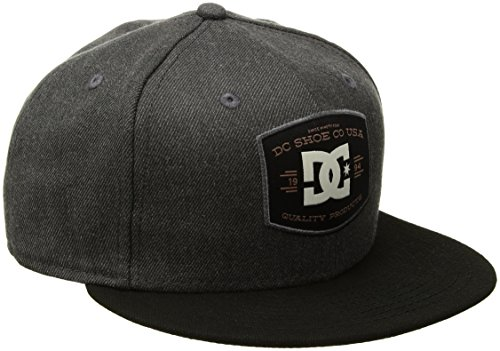 DC Men's Stokenham Hat, Grey Heather, One (Dc Wool Cap)