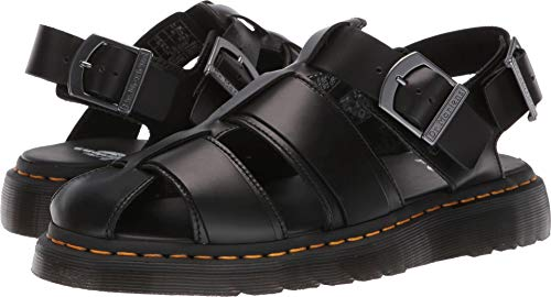 Dr. Martens Men's Kassion Sandals, Black, 8 M US ()