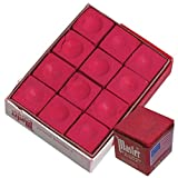 Master Red Billiard Cue Stick Chalk 1 Dozen: more info