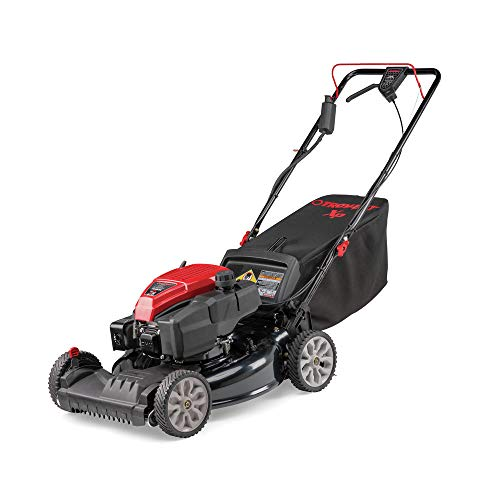 Troy-Bilt 12AGA2MT766 21 in. Self-Propelled 3-in-1 Front Wheel Drive Walk-Behind Lawn Mower with 159cc OHV E-Start Check (Best Troy-bilt Electric Lawn Mowers)