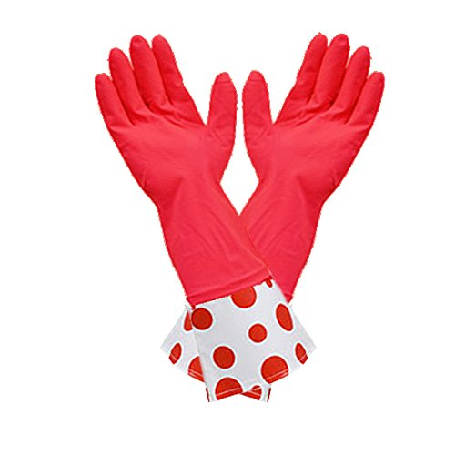 Latex Designer Long Cuff Reusable Gloves product image