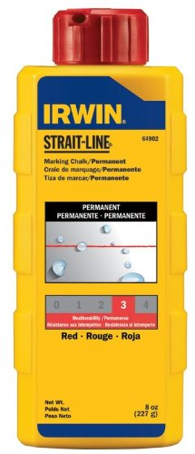(Irwin Strait Line 64902 8 Oz Red Chalk Refills)