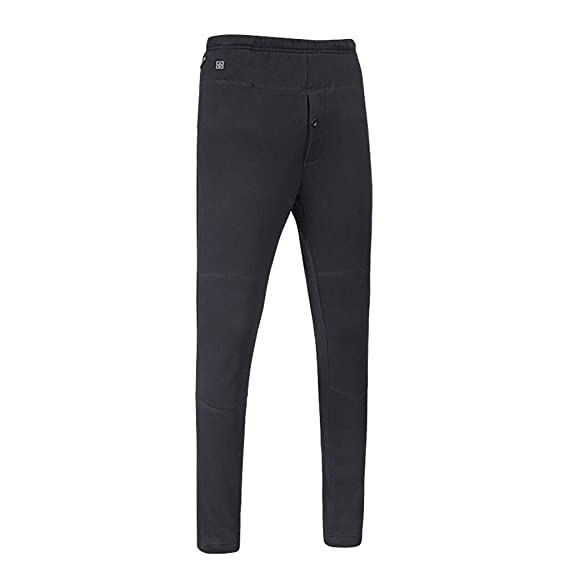 118925a58a2cb Image Unavailable. Image not available for. Colour: Men's Heating Winter  Plus Velvet Thick Warm Pants Thermal Underwear for Men Long Johns Fleece  Lined