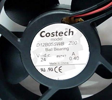 FidgetGear D12B05SWB ZOO DC24V 0.40A ventilador 120 x 120 x 38 mm ...