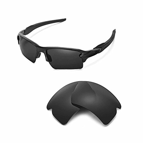 7635676f9da Galleon - Walleva Replacement Lenses For Oakley Flak 2.0 XL Sunglasses - 21  Options Available (Black)