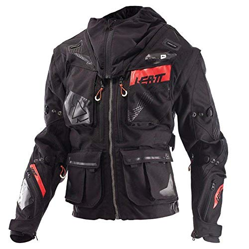 Leatt GPX 5.5 Enduro Offroad Jacket-Black/Grey-S ()
