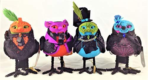 Featherly Friends Hyde and Eek Halloween Fabric Bird
