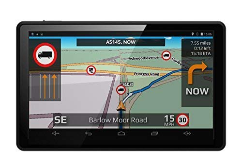 Aguri Truck TX520 DVR 5' Truck Sat Nav with Built-in Dash Cam, Wi-Fi and UK & Ireland mapping. Aguri Limited TX520 DVR UK