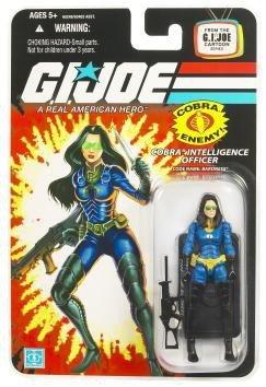 G.I. Joe 25th Anniversary Cartoon Series Cardback: Baroness (Cobra Intelligence Officer) 3.75 Inch Action Figure