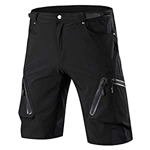 41pMrVlEicL. SS300 ALLY Pantaloncini MTB, Loose-fit Ciclismo Bicicletta 1/2 Pantaloni, Sport e Tempo Libero Pantaloni Idrorepellente per…