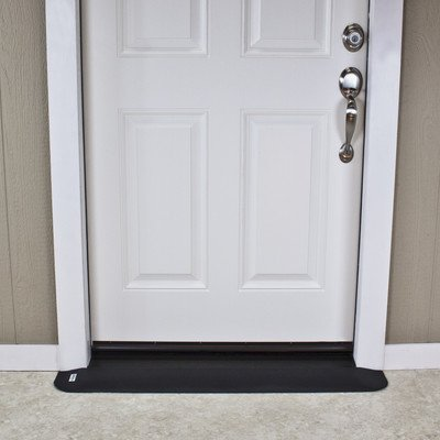 SafePath Products RAEZ0050 EZEdge 3/4'' Thick x 42'' Wide x 5.5'' Transition/Threshold Ramp