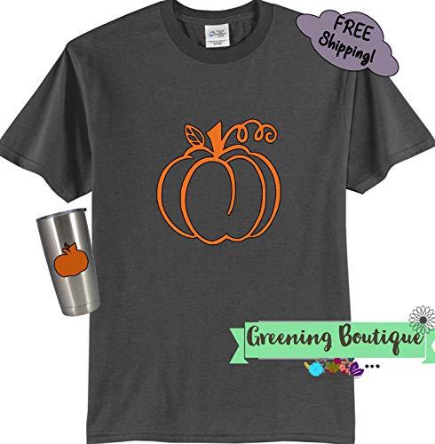 pumpkin orange purple gray black adult halloween t shirts