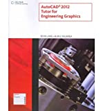 img - for [(Autocad X Tutor for Engineering Graphics )] [Author: Kevin Lang] [Aug-2011] book / textbook / text book
