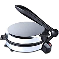 HB National roti Maker/Chapati Maker Stainless Steel Body RED/Blue/Silver (Colour Depends Upon The Stocks)