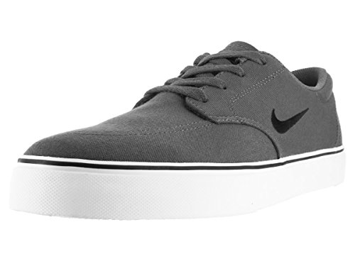 NIKE Men's SB Clutch Skateboarding-Shoes, Dark Grey/Black/White/Gum Light Brown, 11.5 D US