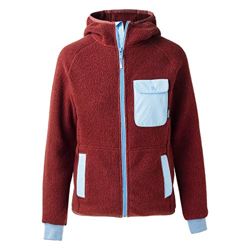 Cotopaxi Cubre Hooded Full-Zip Fleece - Women's Brick/Sky Small