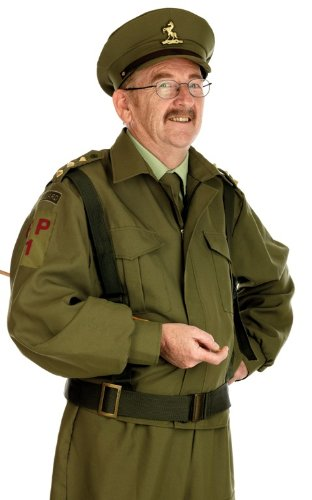 1940s UK and Europe Men's Clothing – WW2, Swing Dance, Goodwin Homeguard - WW2 Soilders Uniform - Adult Fancy Dress Costume - Large - 42-44 £36.83 AT vintagedancer.com