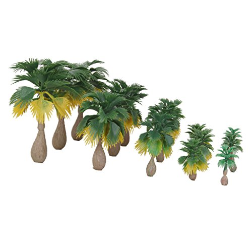 Miniature Palm Trees Fairy Garden Landscape Bonsai Decor