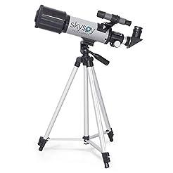 SkySpy 70mm Refractor Telescope with Ext...