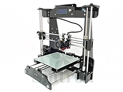 [Sintron] NEW Ultimate 3D Printer Full Complete Kit TW-101 2016 Upgrade Pro & Easy 3D Printer Reprap Prusa i3 + MK8 Extruder, Stepper Motor and LCD Controller