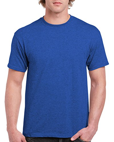 (Gildan Men's Ultra Cotton Tee, Antique Royal)