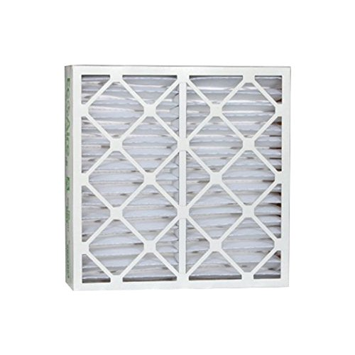 Eco-Aire P25S.0421D21D MERV 13 Pleated Air Filter, 21 1/4 x 21 1/4 x 4""