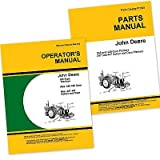 John Deere 246 247 Corn Planter Owners Operators Manual and Parts Catalog Set with Instructions for Operating Maintenance and Adjustments, Parts Names, Numbers, Exploded Views for Assembly