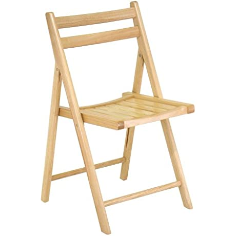 Winsome Wood Folding Chair Natural Set Of 4