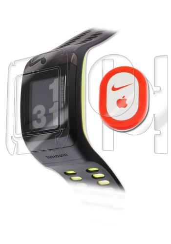 Nike+ SportsWatch GPS Screen Protector, IQ Shield LiQuidSkin Full Body Skin + Full Coverage Screen Protector for Nike+ SportsWatch GPS HD Clear Anti-Bubble Film - with