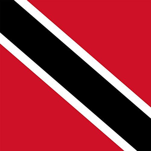 Trinidad & Tobago - World Country National Flags - Vinyl Sticker