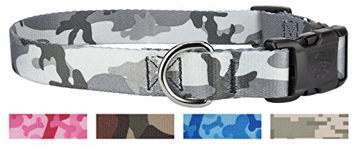 Image of Country Brook Design | Urban Camo Deluxe Dog Collar-M