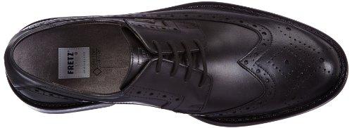 FRETZ men Locarno - Zapatos de cordones derby Hombre Negro (Schwarz (noir 51))