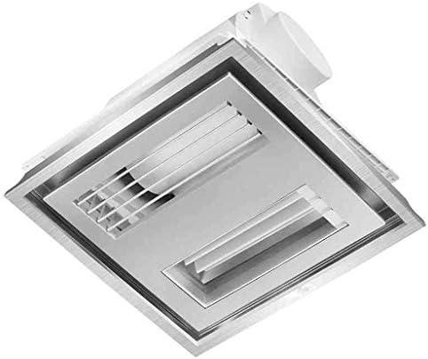 XDDDX 排気ファン、換気ファン、静かな空気の流れ、ロングインストールし、簡単にラスティング、家庭のキッチン換気