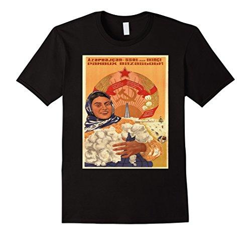 Vintage poster - Azerbaijan Retro T-Shirt