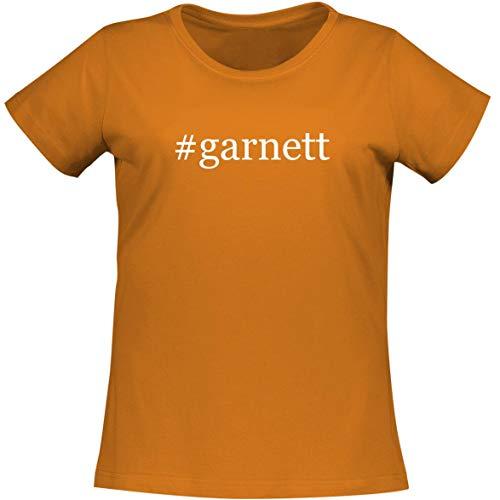 The Town Butler #Garnett - A Soft & Comfortable Women's Misses Cut T-Shirt, Orange, Small