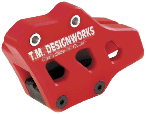 TM Designworks Factory 1 Chain Guide Red for Husqvarna 04-10