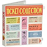 Ticket Stub Organizer Kit (Ticket Stub Organizer - White)