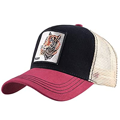 Funny Cock Hat Trucker Mesh Snapback Unisex Animal Baseball Cap