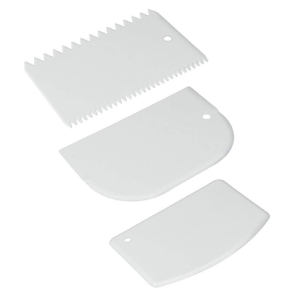 Metaltex - Juego de 3 paletas de plástico para repostería product image