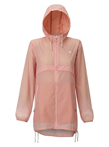 Burton Women's Hazlett Packable Jacket, Rose Quartz Technicolor, Medium