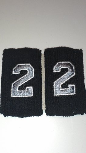 Numbered Custom 1 5 Sports Wristbands