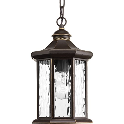 Progress Lighting P6529-20 Traditional/Classic 1-100W Med Hanging Lantern, Antique Bronze - Progress Lighting Bronze Outdoor Lantern