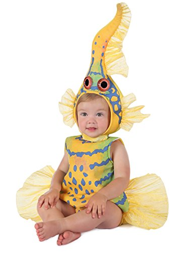 Princess Paradise Baby's Anne Geddes Yellow Gobi Fish Costume, 12-18 Months