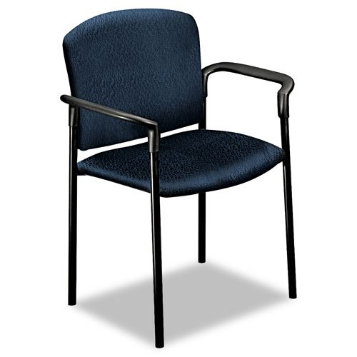 Hon Pagoda 4070 Series Stacking Arm Chairs, Mariner, 2/Carton