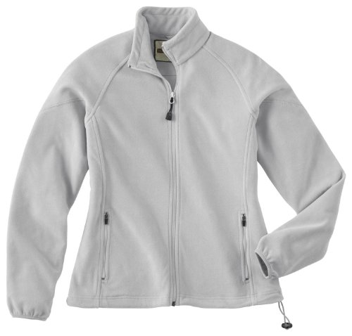 Ladies' Microfleece Unlined Jacket, Color: Grey Frost, Size: Large