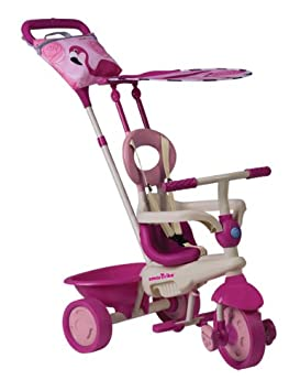 Smart Trike - Triciclo Safari Flamingo Rosa Dirigible