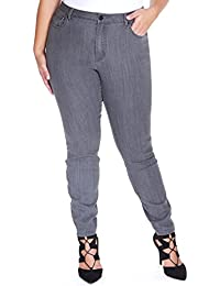 Amazon.com: Grey - Jeans / Plus-Size: Clothing, Shoes & Jewelry