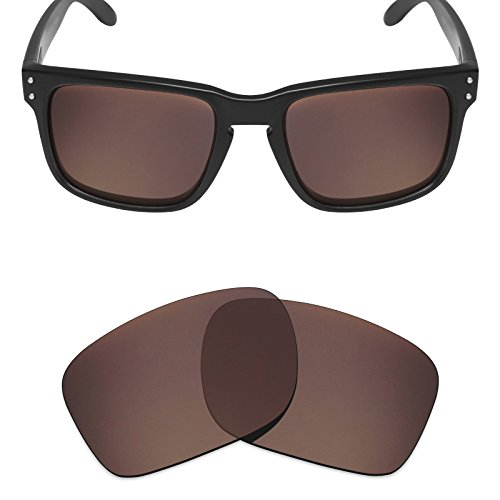 Mryok Polarized Replacement Lenses for Oakley Holbrook - Bronze Brown