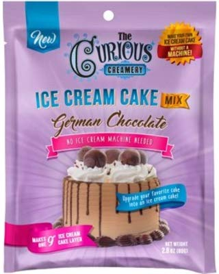 Curious Creamery Mix Ice Cream German Chocolate Pouch 2.8 OZ (Pack of 12)
